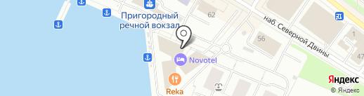 АвтоЛогистика на карте Архангельска