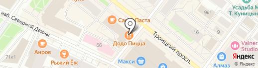 LAHTI на карте Архангельска