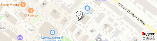 UNITED COLORS OF BENETTON на карте Архангельска