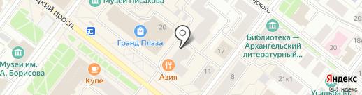 АРТ-ИЗО на карте Архангельска