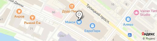 Elena Furs на карте Архангельска