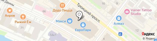 Экспедиция на карте Архангельска