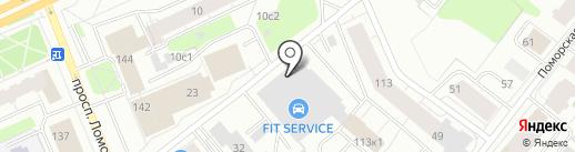 BAZA на карте Архангельска