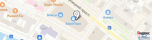 Milano Style на карте Архангельска