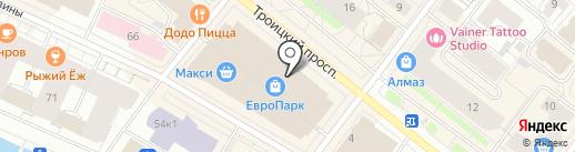 Магазин табачной продукции на карте Архангельска
