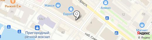 Студия 17 на карте Архангельска