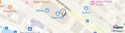Luxury на карте Архангельска