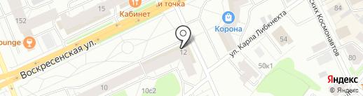 Урал-Пресс Запад на карте Архангельска