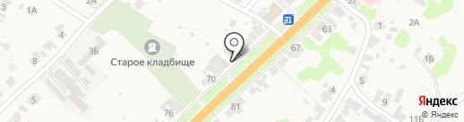 Магазин автотоваров на карте Боголюбово