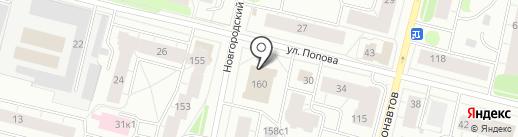 Главное бюро медико-социальной экспертизы по Архангельской области и Ненецкому автономному округу на карте Архангельска