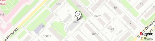 Ломоносовский, ТСЖ на карте Архангельска