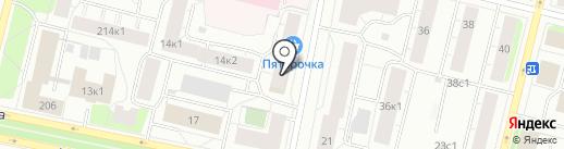 ЕвроПлит Архангельск на карте Архангельска