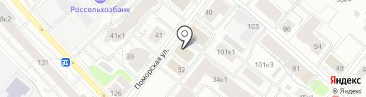 Оберег+ на карте Архангельска