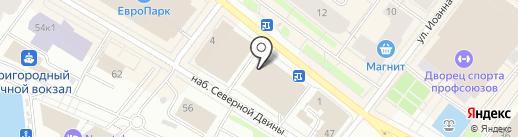 IN YAN на карте Архангельска