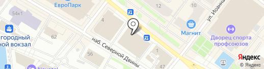 Магазин копий золотых и серебряных украшений на карте Архангельска
