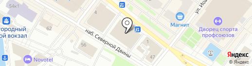Gentlemen на карте Архангельска