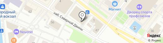 Nila style на карте Архангельска