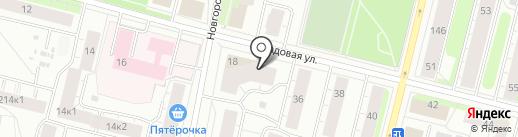 Салон оптики на карте Архангельска