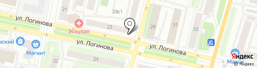 Премьера на карте Архангельска