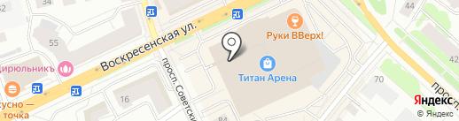 Chester на карте Архангельска