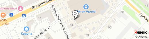 АрхMINDKEY на карте Архангельска
