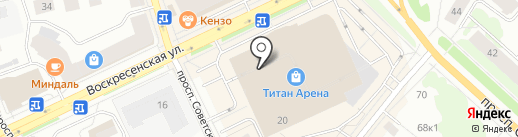 Glamorous на карте Архангельска