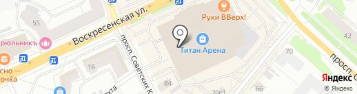 SNEAKER SHOP на карте Архангельска