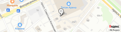 Лавандерия на карте Архангельска