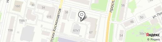 Скрин-TV на карте Архангельска