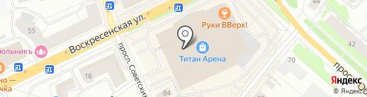 Fitness-Food на карте Архангельска