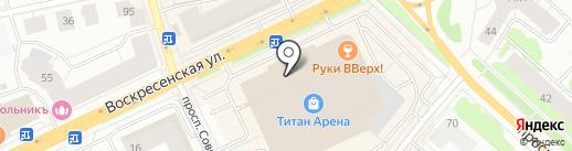 585 GOLD на карте Архангельска