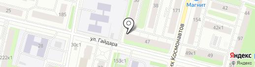 Автогазета на карте Архангельска