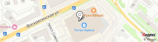 Цветной на карте Архангельска