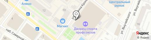 КитаЯма на карте Архангельска