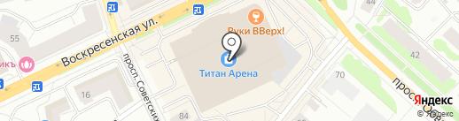 Bubble Maker на карте Архангельска