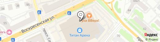 Triumph на карте Архангельска