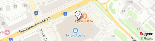 FOR MAN на карте Архангельска