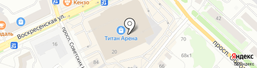 iShop на карте Архангельска