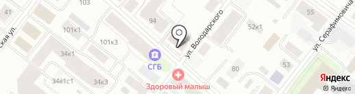 ИНТИ на карте Архангельска