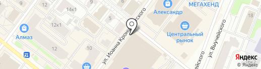 Клёвое место на карте Архангельска