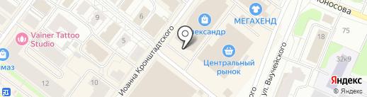 Магазин медицинской техники на карте Архангельска