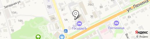 Имедис на карте Боголюбово