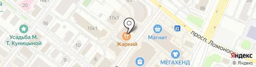 Транспортная компания чартерных перевозок на карте Архангельска