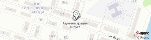Администрация Маймаксанского территориального округа на карте Архангельска