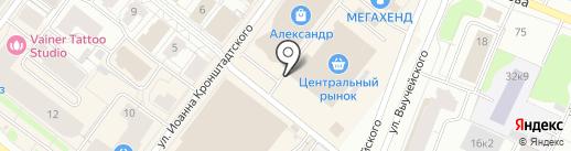 Mister X на карте Архангельска