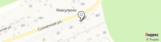 Зелёный город на карте Владимира