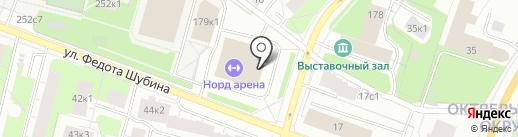Федерация кекусинкай каратэ на карте Архангельска