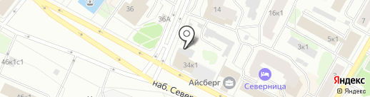 Табак и К на карте Архангельска