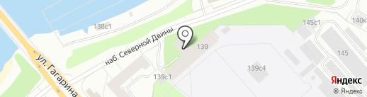 1469 Военно-морской клинический госпиталь Министерства обороны РФ на карте Архангельска