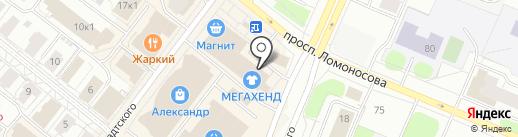 Наследие на карте Архангельска